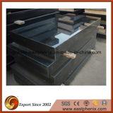 Pietra tombale del granito dello Shanxi/mattonelle di pavimentazione nere Polished