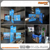Cabine modular feita sob encomenda da feira profissional