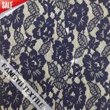 La maggior parte di bello tessuto floreale di nylon popolare del merletto