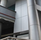 Ausgewähltes Coating PVDF, Powder, PET Aluminum Panel für Column Solution