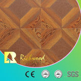 Film publicitaire 12.3mm AC4 White Oak Vinyl Laminate Laminate Wooden Flooring