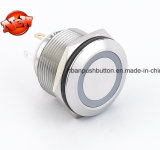 Переключатель кнопка металла RGB 3 СИД 22mm