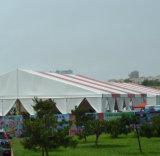 Двойной шатер выставки случая PVC покрытый алюминиевый