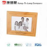 Cadeau en bambou promotionnel d'armature de photo