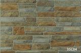 陶磁器の文化的な石造りの煉瓦外壁のタイル(333X500mm)