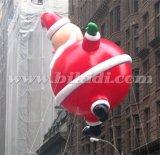 Милое рекламируя раздувное Santa Claus, воздушный шар летая K7144 гелия Санта