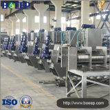 Getränkeindustrie-Abwasser-spiralförmige Klärschlamm-Entwässerung und Behandlung-Maschine
