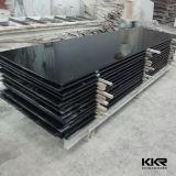 حجارة أسود اصطناعيّة لوح صلبة سطحيّة لأنّ عمليّة بيع