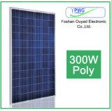 Poly panneau solaire 250W 300W pour le module solaire à la maison de picovolte