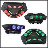 9PCS 12W 4in1 Infinite Rotating LED Moving Head Spider Light