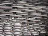 Roda abrasiva da aleta com material do óxido de alumínio para o polonês do metal