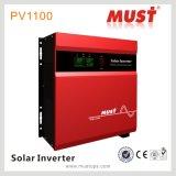 Инвертор сусла PV1100 высокочастотный солнечный с регулятором 30A PWM солнечным