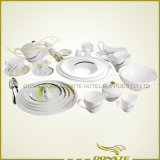 25 lignes occidentales de vaisselle de PCS décorées des pistes d'or