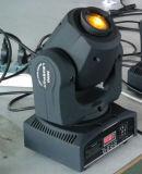 Luz principal móvil de la mini del CREE 10W del Gobo colada del efecto