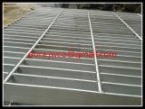 Grata del pavimento del quadrato dell'acciaio inossidabile
