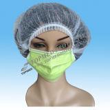 Maschera di protezione chirurgica medica non tessuta della maschera di protezione delle 3 pieghe