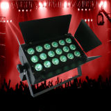 18X6w Blanco 2in1 PAR LED para Audio Stage Disco