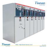 Mécanisme électrique à haute tension de l'armoire d'alimentation de commutateur de HXGN-12kV SF6 RMU