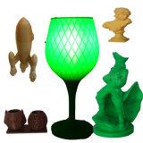 필라멘트를 인쇄하는 고품질 3D는, 채워진 3D 인쇄 기계 필라멘트를 청동색으로 만든다