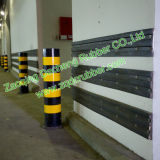 Protezioni di gomma resistenti della parete