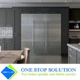 Кухонный шкаф кухни мебели Veneer и шкафа серого дома отделки 2PAC модульный (ZY 1137)
