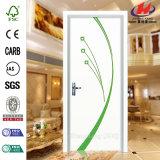大型の同じ高さの木PVCドア