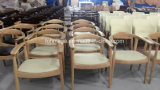 Древесина скандинавской компактной вечной конструкции твердая обедая стулы