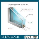 Baixo-e vidro isolado Tempered dobro de 5+9A+5mm