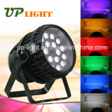 18PCS * 12W Rgbwauv al aire libre 6in1 impermeable LED PAR zoom