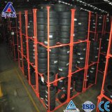 Cremalheira dobrável do armazenamento de pneu do carregamento pesado