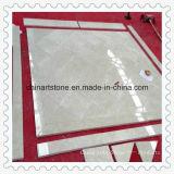 Mattonelle di marmo beige Polished della parete di Floorand