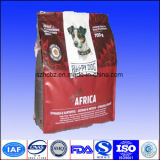Sac de empaquetage d'aliments pour chiens avec le gousset