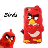 caixa do silicone do pássaro 3D para os acessórios do telefone de Huawei P8 P9 Oppo R9s R9splus (XSDW-051)