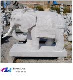 화강암 동상에 의하여 손 새겨지는 동물성 코끼리 조각품