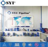 Peinture ASTM A53 6 pouces inoxydable de fabrication Tee Raccord Coude de tuyaux en acier soudé 316