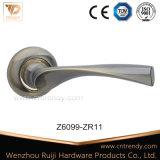 Просто ручка двери сатинировки типа покрынная никелем нутряная деревянная (Z6144-ZR13)