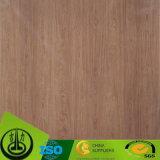 Papel de madeira da grão da largura 1250mm para MDF, assoalho, HPL