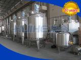 Chaîne de production pour le lait d'haricot de soja