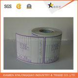 Перевозка груза принтера лазера обозначая напечатала изготовленный на заказ ярлык бумаги стикера бирки
