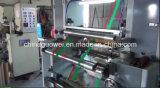 Máquina de estratificação seca da velocidade média de controle de computador para a película plástica