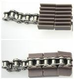 Catena di convogliatore di plastica piana dell'acciaio inossidabile del piatto del piano d'appoggio