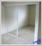 Espejo de aluminio decorativo de la alta calidad, vidrio del espejo del vacío
