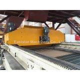 Compuesto de cuarzo de piedra de fabricación de losa de la planta y máquina de prensa