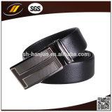 [أم] [هيغقوليتي] أعلى جلد أسود آليّة إبزيم حزام سير رجال رجل حزام سير ([هج3102])