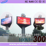 Panneau d'Afficheur LED de produit de la vente P25 de la publicité extérieure d'intense luminosité