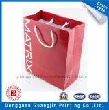 Encargo del nuevo diseño de papel laminado Bolsa de compras bolso de la manija