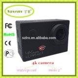 Câmera real da ação da definição 4k com WiFi