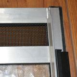 Finestra di scivolamento di alluminio della serratura a mezzaluna rivestita della polvere Kz277
