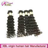 Выдвижения человеческих волос оптовой продажи цены по прейскуранту завода-изготовителя волос девственницы перуанские