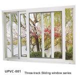 Белое алюминиевое окно профиля UPVC